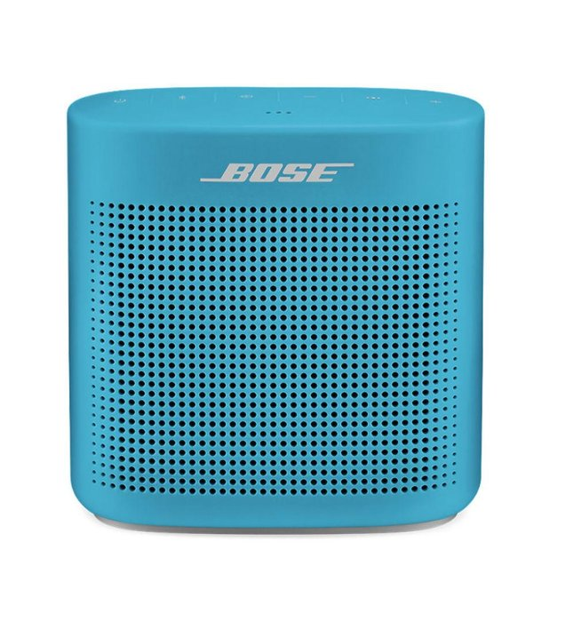 A WIRELESS SPEAKER  -  Okay, you got him the turntable, but he still needs to be able to rock, right? Whether he's relaxing on a Sunday or hiding in the woodshed sneaking a beer, Bose's wireless Soundlink II has his back. Added bonus: It's loud. Really loud. Drown-out-the-kids'-whining loud. And that's priceless.  Soundlink color Bluetooth II speaker by Bose, bose.com