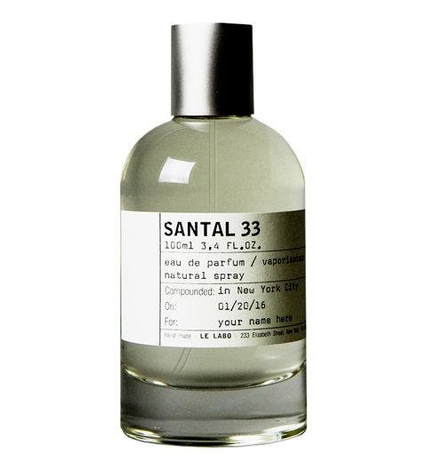 A FRAGRANCE - Le Labo's Santal fragrance is inspired by the American West, taking leather, firelight, and the desert into account when crafting the fragrance. It uses cardamom and musky notes to help facilitate that idea. Santal 33 by Le Labo, lelabofragrances.com