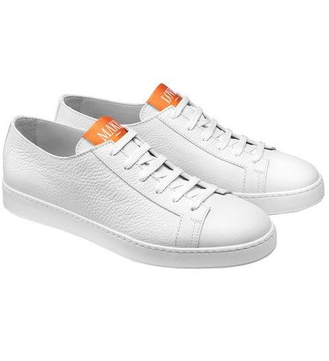 A FRESH PAIR OF SNEAKERS - What, like you don't know dad's shoe size? Man Clean Icon by Santoni, santonishoes.com