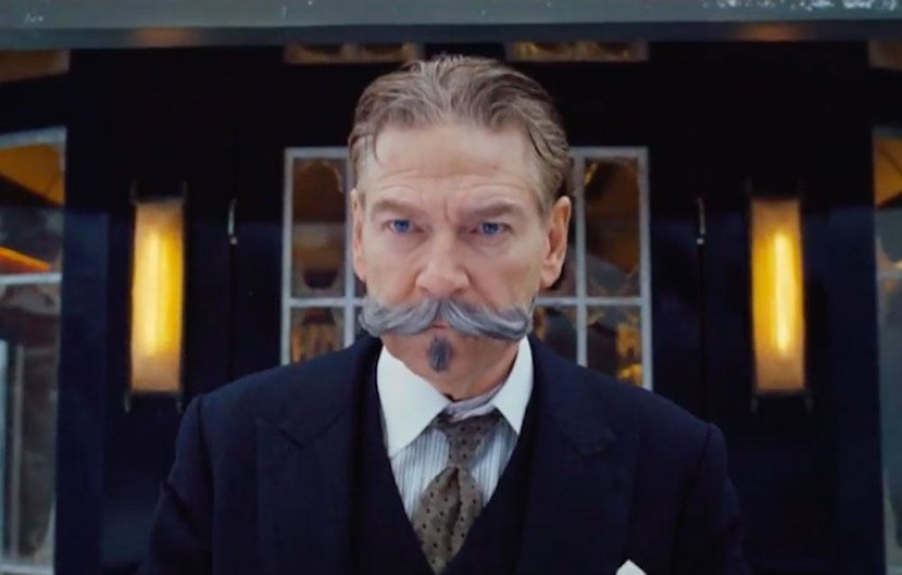 Murder On The Orient Express, Agatha Christie, Poirot, Hercule, Hercule poirot, Kenneth Branagh, 2017, New, Trailer, Film, Movie, Film trailer, Orient Express