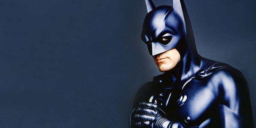 Batman, Nipples, Bat Nipples, George Clooney, Clooney Batman, Costume, Batman costume, Joel Schumacher, Batman & Robin, Batman Forever