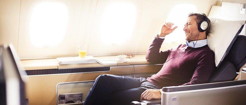 Upgrade on a flight, Upgrade flight, How to get an upgrade, VIP, Business class, First class, Upgrade to business, Bumped up