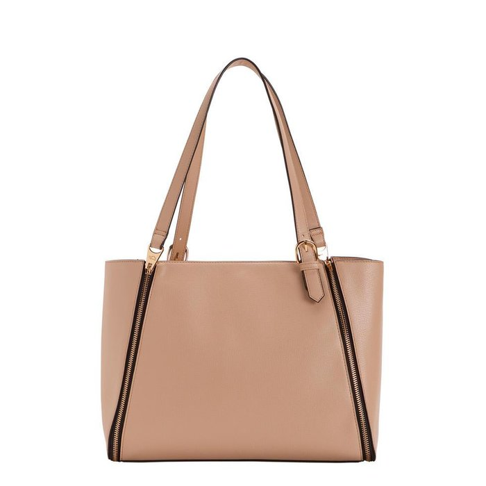 The Carpisa Poligono interchangeable bag in sand, Dhs249