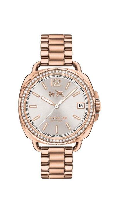 Coach Tatum rose gold watch, Dhs1,115
