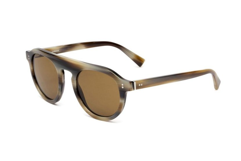 Dolce & Gabbana Sunglasses - New tortoiseshell round frames. You can't go far wrong, Dhs1,460