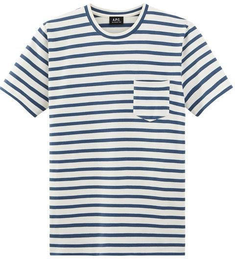A.P.C  -  Michael T-Shirt  -  A.P.C.'s expertly crafted T-shirts are all about quality—wear this one if you're looking for something polished, and with a healthy dose of Parisian cool. -> apc.com