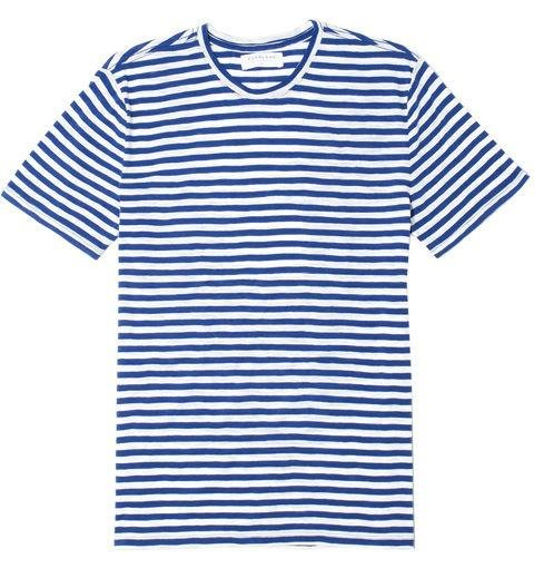 EVERLANE  -  Medium Striped Crew  -  At this price, it wouldn't be a bad idea to stock up for daily wear. -> everlane.com