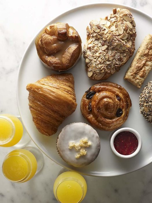Assorted bakery brunch