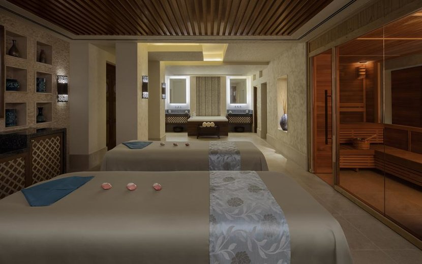 Talise Spa couples treatment room