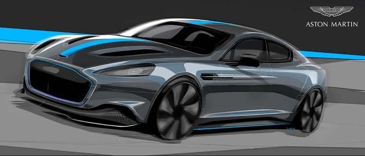 Aston Martin, Rapide, Electric, Environmentally friendly, Second Century Plan, Luxury cars, James Bond