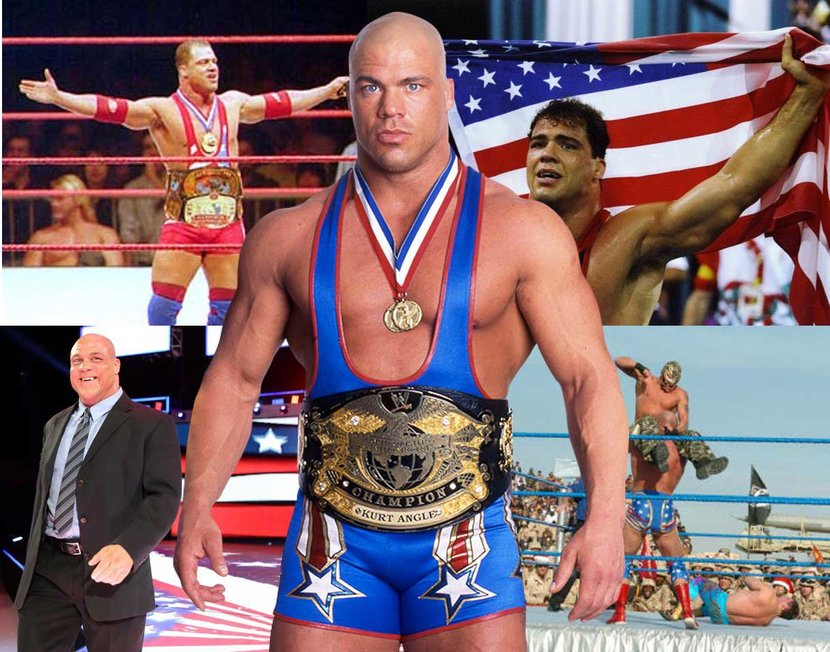 Kurt Angle, WWE, WWE2K18, #WWE2K18, Wrestling Machine, WWF, Wrestlemania, Conor McGregor, Is Wrestling Fake?, Professional Wrestling