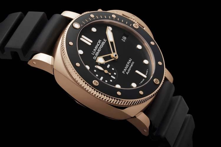 Dive watch, Luminor, Panerai, Luminor Submersible 1950, Scuba