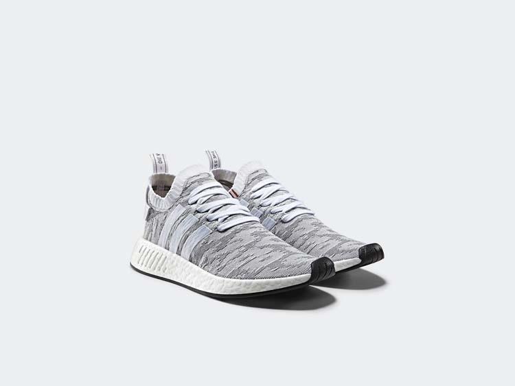 Adidas Originals NMD R2, Adidas, NMD, Colourways, Primeknit, Grey, Fresh creps