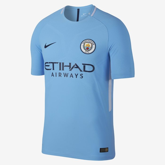 Manchester City -  Continuing the trend of simplicity being key, this latest from Pep Guardiola's half of Manchester is about as #menswear as they come. Just like the betting odds of Drake being pictured wearing this in a night club, it's an 8/10.