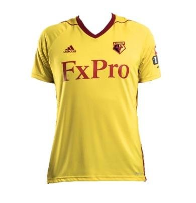 Watford - We know Watford's colours are yellow and red. We know that means their kit pretty much has to include yellow and red. But this still looks like a rejected McDonald's uniform. Sorry. 3/10