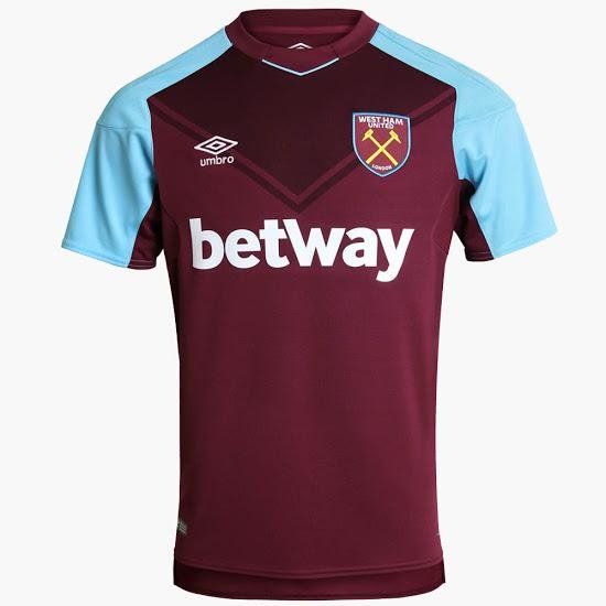 West Ham United -  As we saw with Liverpool, going down the throwback route is always a wise choice. It's no different with Umbro's latest effort for the Irons as they've managed to come up with a kit that's just the right amount of '70s. Also major kudos for the inclusion of a chevron. The world needs more football shirts with chevrons. 8/10