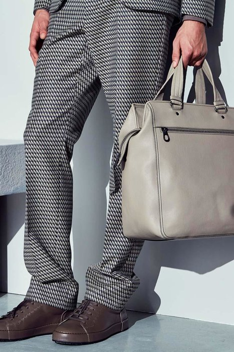 Bottega Veneta, Bottega, Bag, Man bag, Leather bag, AW17, Autumn Winter, Fall, Fall 2017