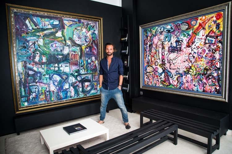 Sacha Jafri, Art, British Artist, Universal Child: The Realisation, Kafka's Waiting Room, MAGICAL rEALISM, Dubai, UAE, Dubai artist, Artist, Kafka, Art collection
