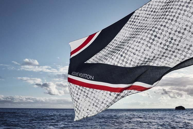 LV, Louis Vuitton, America's Cup, Sailing, Fashion