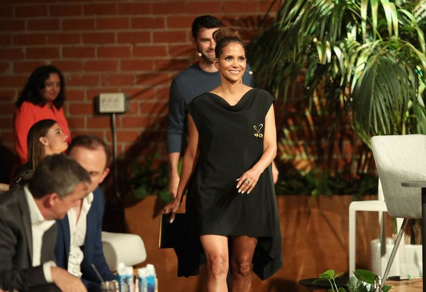 Halle Berry, The Venture, Interview, Chivas The Venture, LA, Esquire, Esquire Middle East, Business, Businesswoman, Social responsibility, Oscar, Academy Award, Superhero