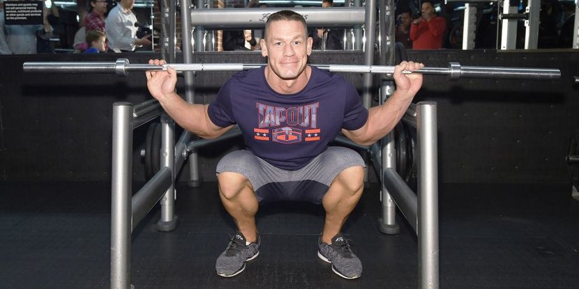 WWE, John Cena, Workout, Tips, Gym, Work out tips, Training, Fitness, Lifting, Superstar