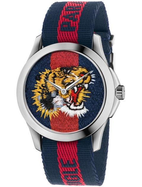 GUCCI - Le Marche Des Merveilles Nylon - Gucci's signature roaring lion is maximalist detailing at its best. Gucci.com