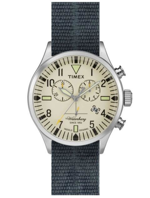 TIMEX - Waterbury Chronograph - Timex is king of casual watches, and this vintage-feeling one is a very cool option. nordstrom.com