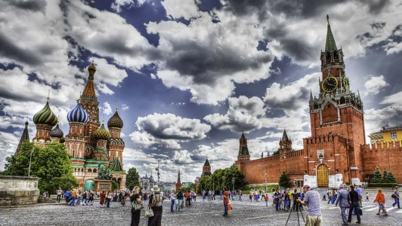 15. Red Square (Russia) - Instagram images: 591,430
