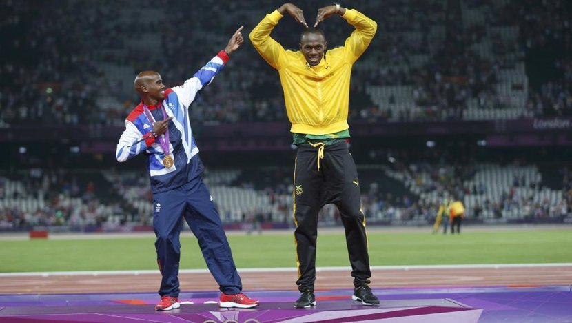 Athletics, Mo Farah, Bolt, Last race, Jamaica, United Kingdom, Olympics, Farewell
