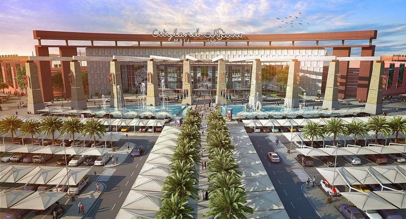 Cityland mall, #dubai, World's first ever nature-inspired shopping center, Cityland Group, Dubai Miracle Garden