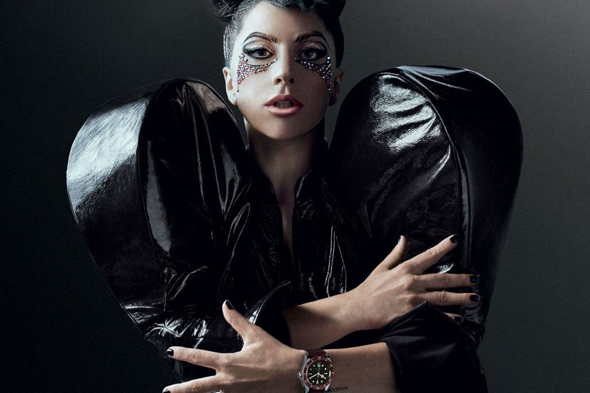 Lady Gaga is the new face of Tudor Watches