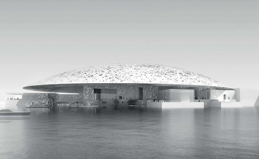 Louvre, Abu Dhabi Louvre, The Louvre