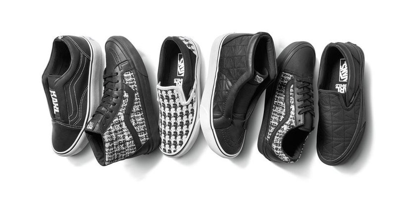 Vans, Karl Lagerfeld, Collab, Sneakers, Shoes, Trainers, Men's style