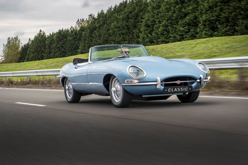 The classic E-Type is often called the most beautiful motor in the world