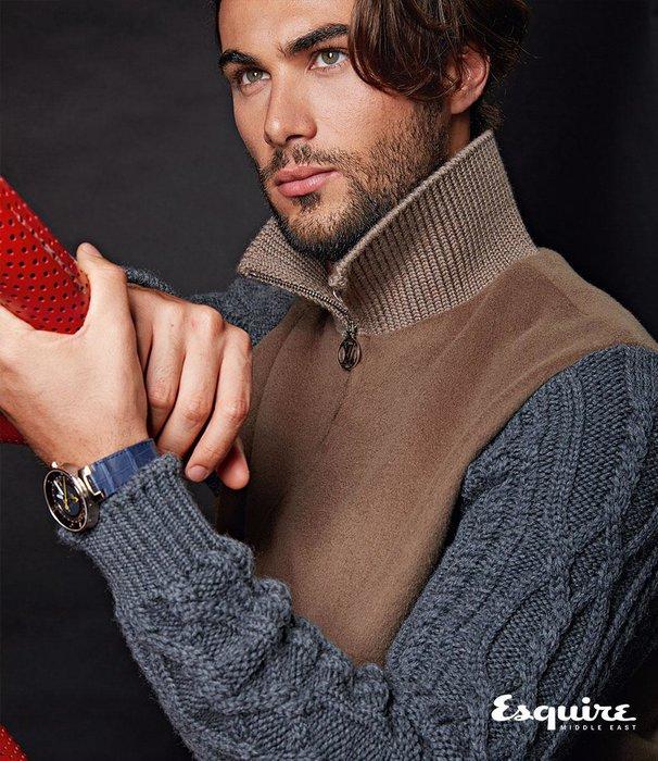 Knit Mix Blouson, Tambour Moon Watch. All Louis Vuitton