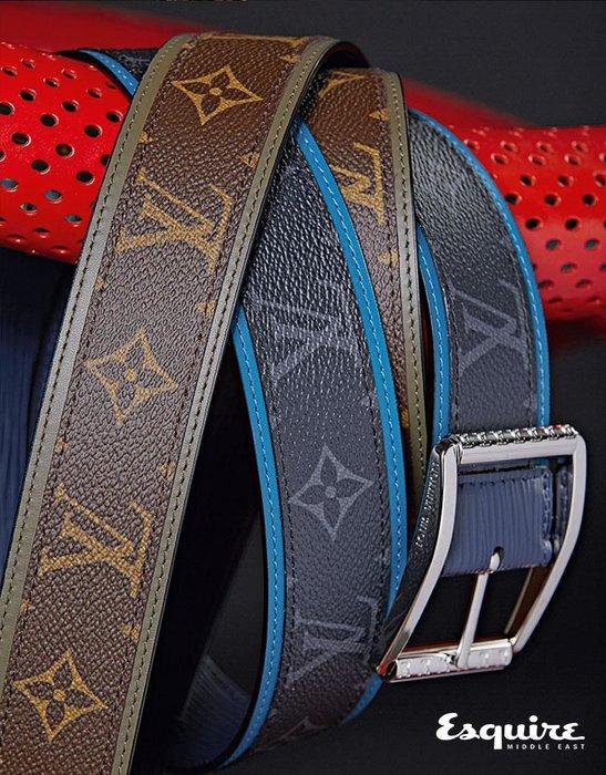 Reverso Monogram Belt, Reverso Monogram Eclipse Belt. All Louis Vuitton