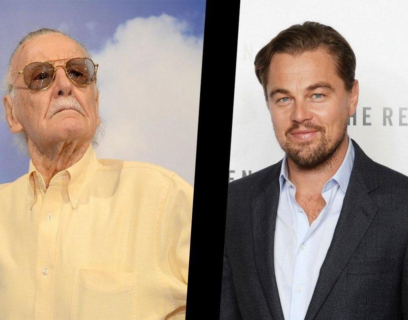 Leonardo DiCaprio, Stan Lee, Marvel, Movies