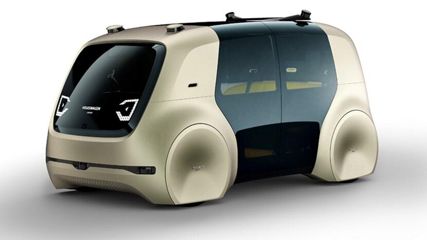 Volkswagen, Electric cars, OLED display, Augmented reality, Driverless cars UAE, Sedric, Volkswagen's first driverless car