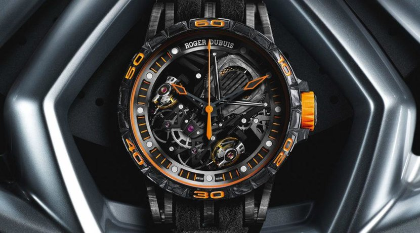 Roger Dubuis, Lamborghini, Excallibur Aventador S, Duotor