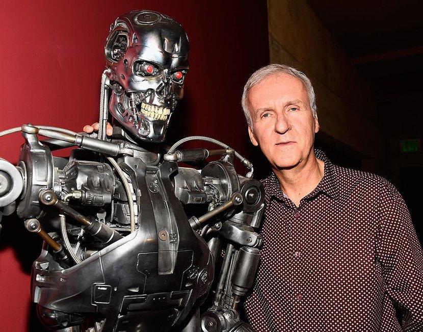 James Cameron, Arnold Schwarzenegger, Linda Hamilton, Terminator