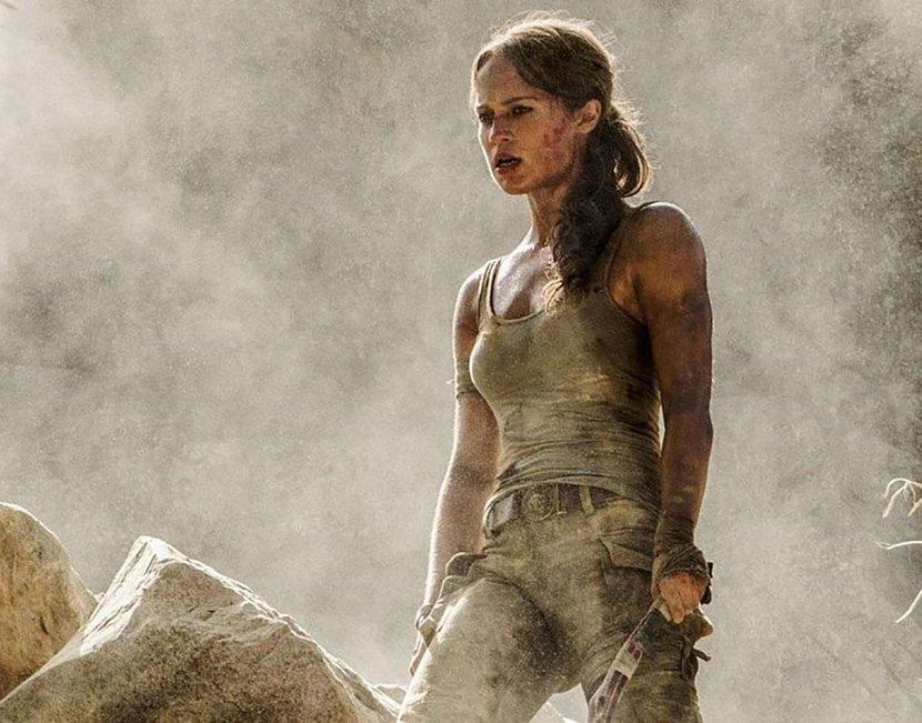 Alicia Vikander is Lara Croft