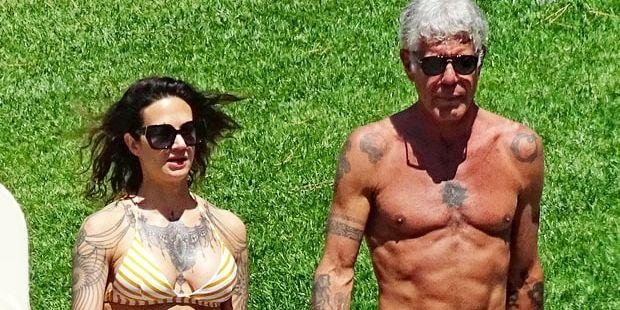 Anthony Bourdain, Abs, Health and fitness