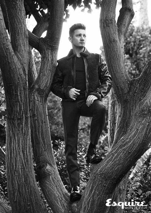 Jacket by Hugo Boss; t-shirt by Richer poorer; trousers by hvrminn; boots by Hugo Boss