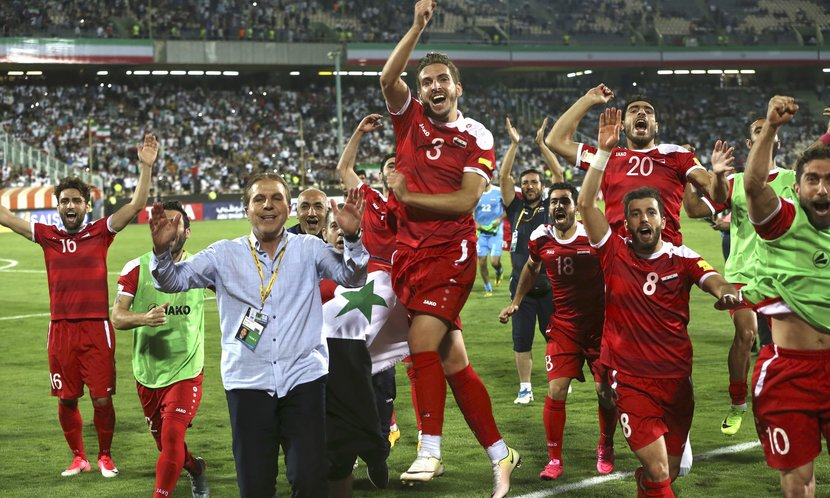 Syria, The beautiful game, Australia, FIFA world cup, Against all odds, The Syrian heroes stand a real chance of making the FIFA World Cup for the first time, Qausian eagles, World cup play-offs