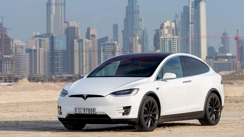 You can now book a Tesla Model X via Uber