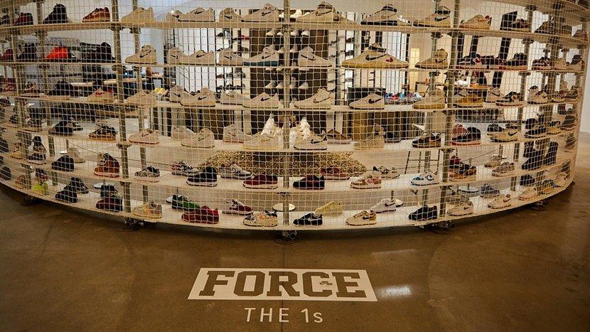 Nike, Nike Air Force 1, Air Force 1, Shoes, Footwear, Big Black Book