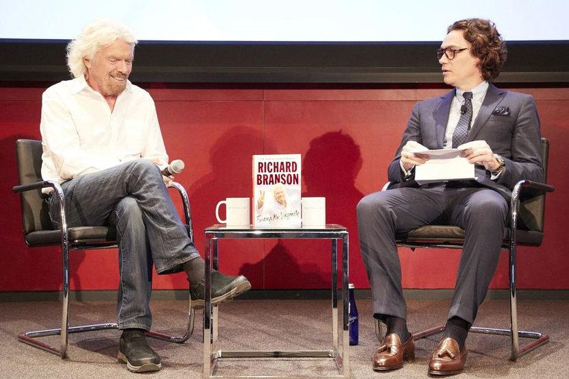 Richard Branson, Esquire, Losing my Virginity