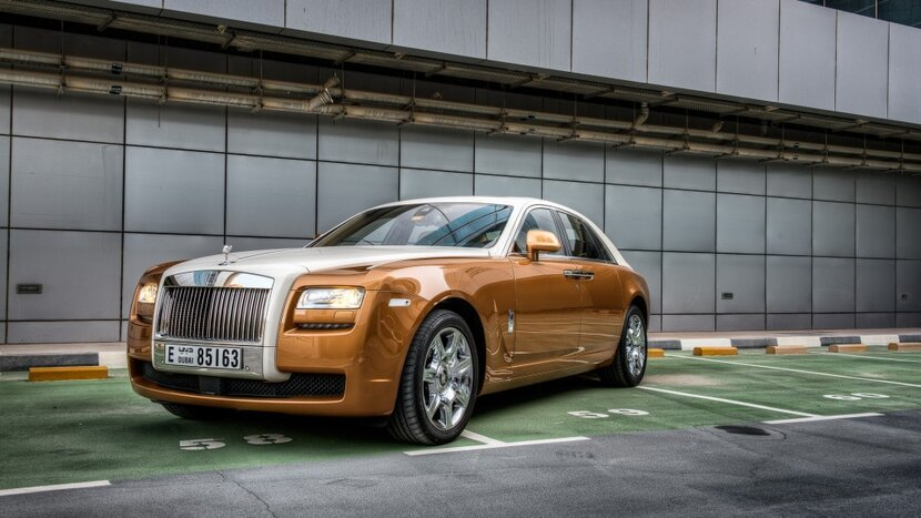 Rolls Royce Ghost, #dubai, MAG property development, Wellness Creek Resort, World's largest fleet of Rolls Royce Ghosts purchased by Dubai-based company, MAG property development has just added 12 Ghosts to its fleet of personal cars