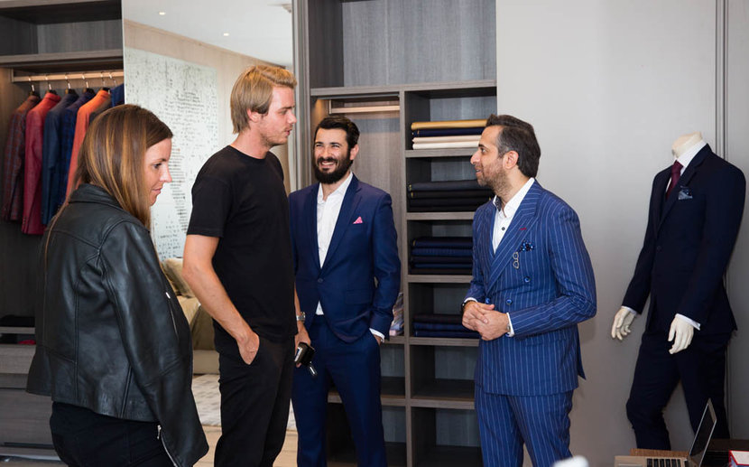 Esquire townhouse  event held at volante tower Abraj street business bay