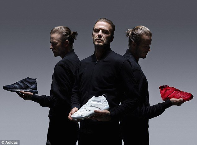 David Beckham, Adidas, Adidas Predators, Adidas Accelerator, Adidas celebrate 20-year partnership with footballing icon David Beckham, The former England captain brings the predators back to life after a 2-year-long wait